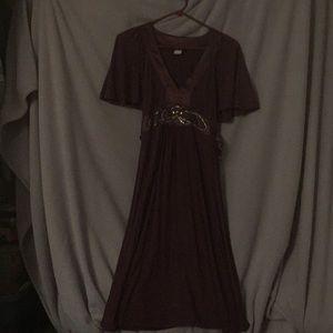 Venus Maroon Dress